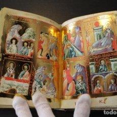 Libros antiguos: MENOLOGIO BIZANTINO DE OXFORD. EDICIÓN LIMITADA. FACSÍMIL.. Lote 73114563