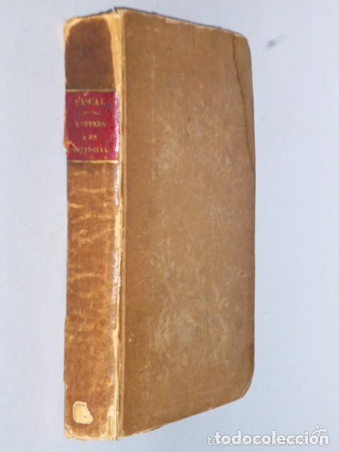 LETTRES ÉCRITES A UN PROVINCIAL (1828) (Libros Antiguos, Raros y Curiosos - Otros Idiomas)