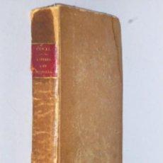 Libros antiguos: LETTRES ÉCRITES A UN PROVINCIAL (1828). Lote 77260365