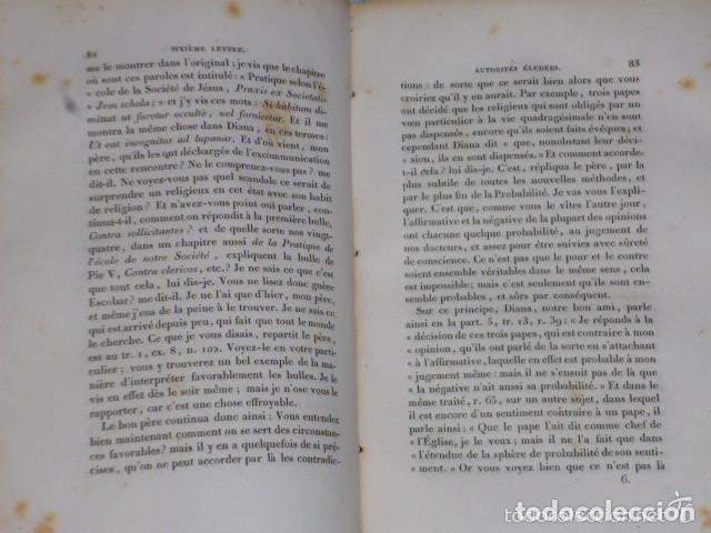 Libros antiguos: LETTRES ÉCRITES A UN PROVINCIAL (1828) - Foto 3 - 77260365