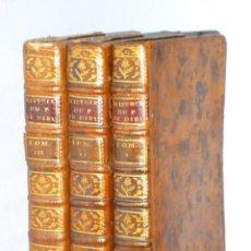 Libros antiguos: HISTOIRE DU PEUPLE DE DIEU, DEPUIS SON ORIGINE JUSQU´A LA NAISSANCE DU MESSIE(SECONDE PARTIE, 3 TOM). Lote 77261493