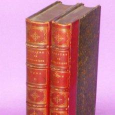 Libros antiguos: OEUVRES COMPLÈTES, DE CASIMIR DELAVIGNE..- THEATRE (2 TOMES) . Lote 77274385