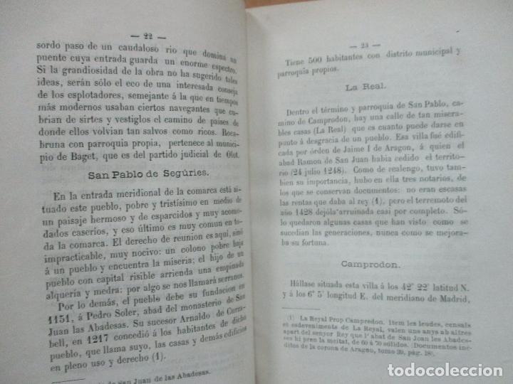 Libros antiguos: HISTORIA DE CAMPRODÓN. MORER, José y GALÍ, F. de A. - Foto 4 - 77303725