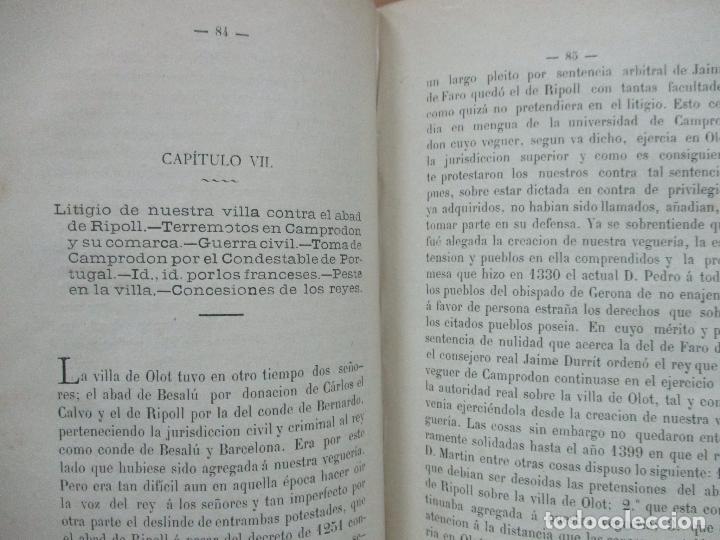 Libros antiguos: HISTORIA DE CAMPRODÓN. MORER, José y GALÍ, F. de A. - Foto 5 - 77303725