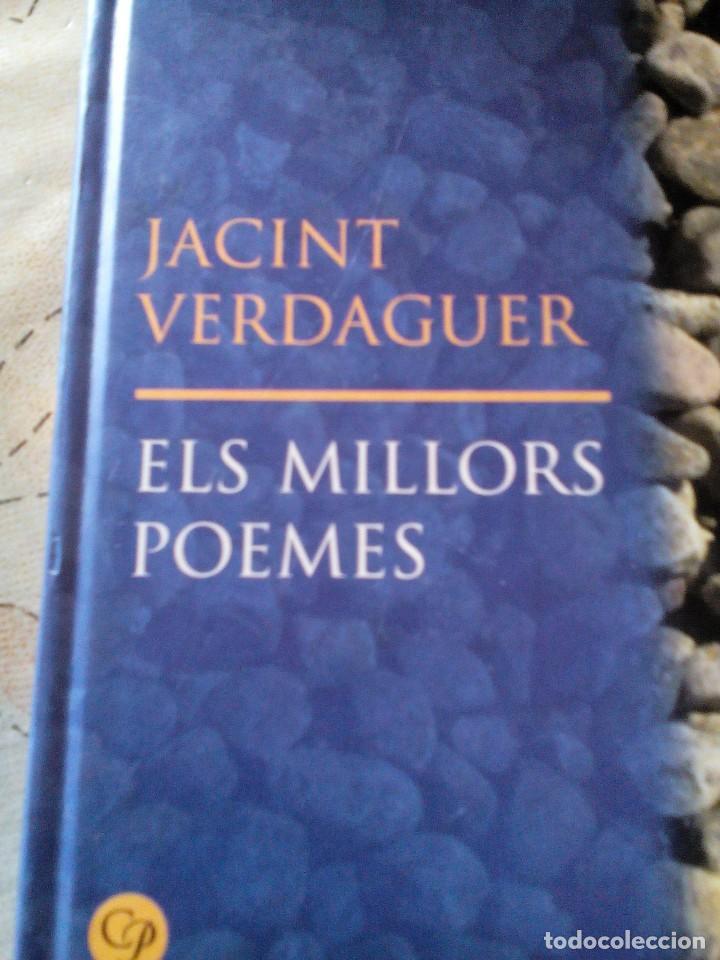 C2_LIBRO PEQUEÑO ELS MILLORS POEMAS EN CATALAN,DE JACINTO VERDAGUER,MIDE APROX20X12X1 (Libros Antiguos, Raros y Curiosos - Literatura Infantil y Juvenil - Otros)