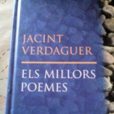 Libros antiguos: C2_LIBRO PEQUEÑO ELS MILLORS POEMAS EN CATALAN,DE JACINTO VERDAGUER,MIDE APROX20X12X1. Lote 77309549