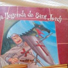 Libros antiguos: C2__CUENTO CATALAN,LA LLEGENDA DE SAN JORDI__MIDE APROXIMADO 19X19 X 1. Lote 77326885
