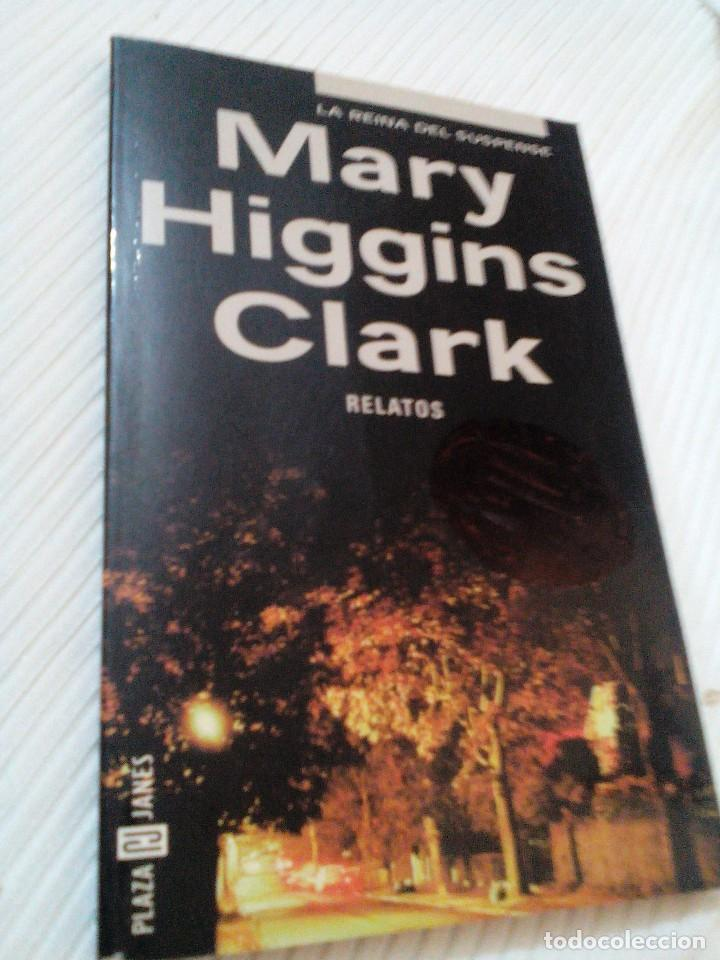 C2__LIBRO PEQUEÑO_RELATOS__MARY HIGGINS CLARK,LA REINA DEL SUSPENSE_MIDE 18X11X1CM (Libros Antiguos, Raros y Curiosos - Literatura Infantil y Juvenil - Otros)