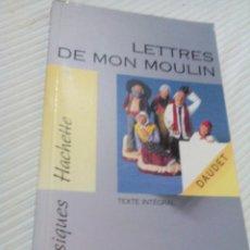 Libros antiguos: C2__LIBRO PEQUEÑO_ FRANCES ,LETTRES DE MON MOULIN___MIDE 18X11X2CM. Lote 77334297