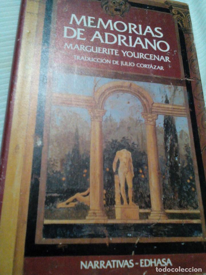 C2__LIBRO MEMORIAS DE ADRIANO, MIDE 23X15X2M (Libros Antiguos, Raros y Curiosos - Literatura Infantil y Juvenil - Otros)