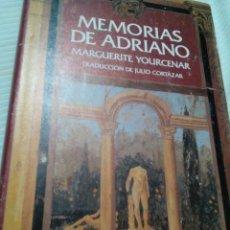 Libros antiguos: C2__LIBRO MEMORIAS DE ADRIANO, MIDE 23X15X2M. Lote 77337001
