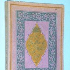 Libros antiguos: LES MOALLACAS D´ANTAR ET AUTRES. (1921). Lote 77362617