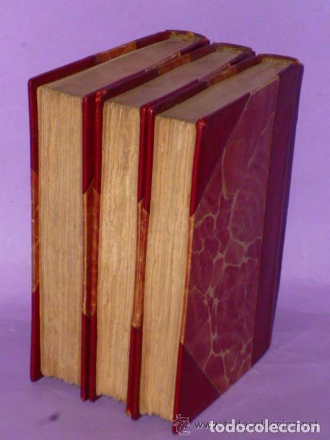 Libros antiguos: DISCOURS SUR L´HISTOIRE UNIVERSELLE. (3 TOMOS, 1875 ) - Foto 4 - 77351925