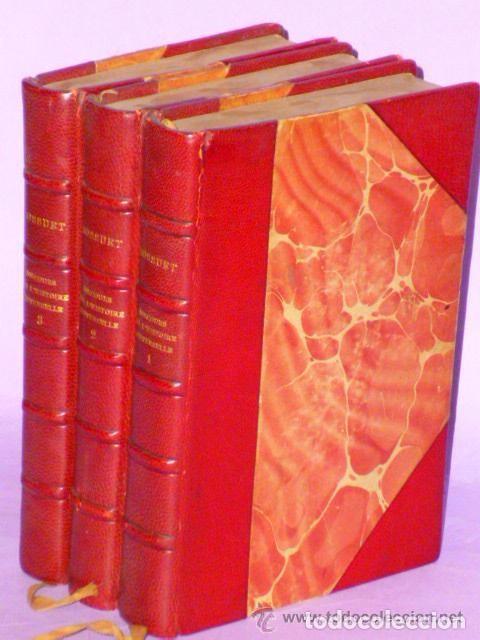 Libros antiguos: DISCOURS SUR L´HISTOIRE UNIVERSELLE. (3 TOMOS, 1875 ) - Foto 5 - 77351925