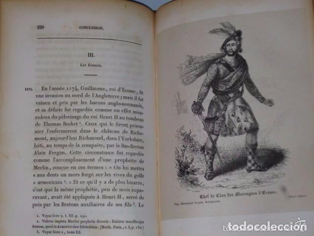 Libros antiguos: HISTOIRE DE LA CONQUETE DE L'ANGLETERRE PAR LES NORMANDS..-. (4 TOMOS, 1843) - Foto 7 - 77373933