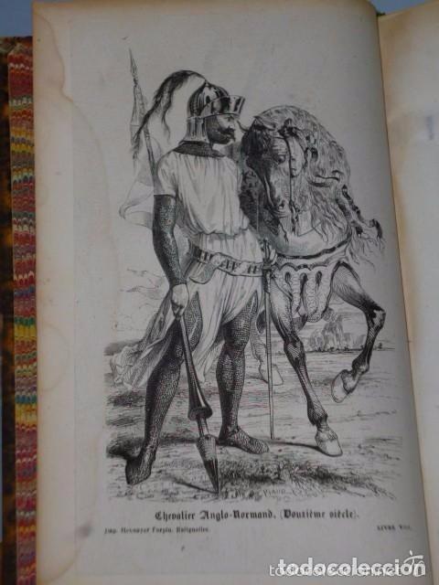 Libros antiguos: HISTOIRE DE LA CONQUETE DE L'ANGLETERRE PAR LES NORMANDS..-. (4 TOMOS, 1843) - Foto 9 - 77373933