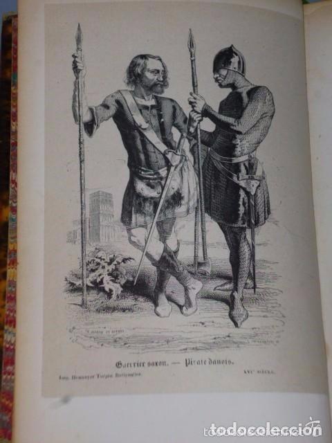 Libros antiguos: HISTOIRE DE LA CONQUETE DE L'ANGLETERRE PAR LES NORMANDS..-. (4 TOMOS, 1843) - Foto 10 - 77373933