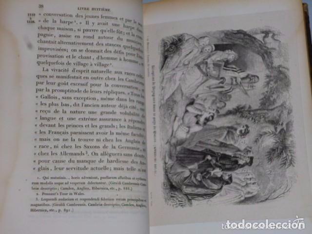 Libros antiguos: HISTOIRE DE LA CONQUETE DE L'ANGLETERRE PAR LES NORMANDS..-. (4 TOMOS, 1843) - Foto 11 - 77373933