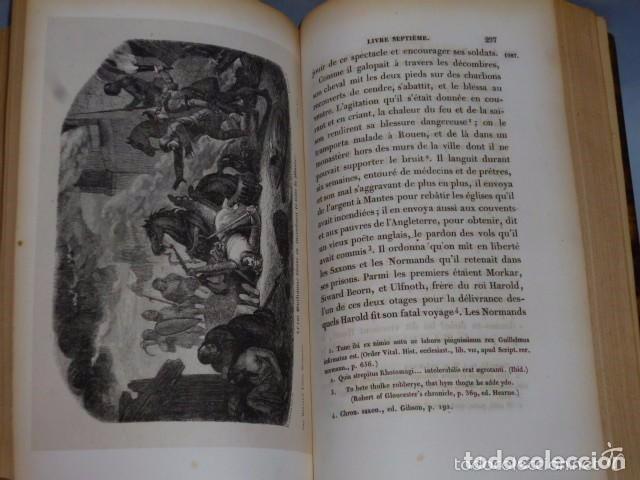 Libros antiguos: HISTOIRE DE LA CONQUETE DE L'ANGLETERRE PAR LES NORMANDS..-. (4 TOMOS, 1843) - Foto 12 - 77373933