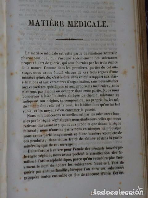 Libros antiguos: TRAITÉ ÉLÉMENTAIRE D´HISTOIRE NATURELLE PHARMACEUTIQUE ET MÉDICALE.... TOME SECOND ( 1843) - Foto 5 - 77374029