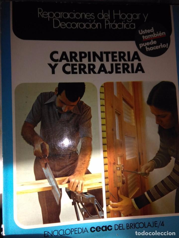 CARPINTERIA Y CERRAJERIA (Libros Antiguos, Raros y Curiosos - Ciencias, Manuales y Oficios - Otros)
