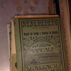 Libros antiguos: MANUAL DEL CURTIDOR Y NOCIONES DE PELETERIA. Lote 77423009