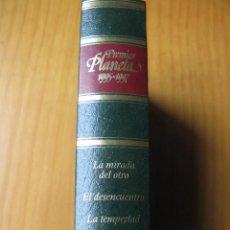 Libros antiguos: PREMIOS PLANETA 1995 -1997 - LA MIRADA DEL OTRO - EL DESENCUENTRO - LA TEMPESTAD. Lote 175006559