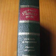 Libri antichi: PREMIOS PLANETA 1952 1954 EN LA NOCHE NO HAY CAMINOS - UNA CASA CON GOTERAS - PEQUEÑO TEATRO . Lote 77467401