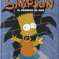 Libros antiguos: LOS SIMPSONS EL REGRESO DE BOB. Lote 77561833