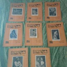 Libros antiguos: 8 NÚMEROS DE GACETA DE BELLAS ARTES.. Lote 77803029