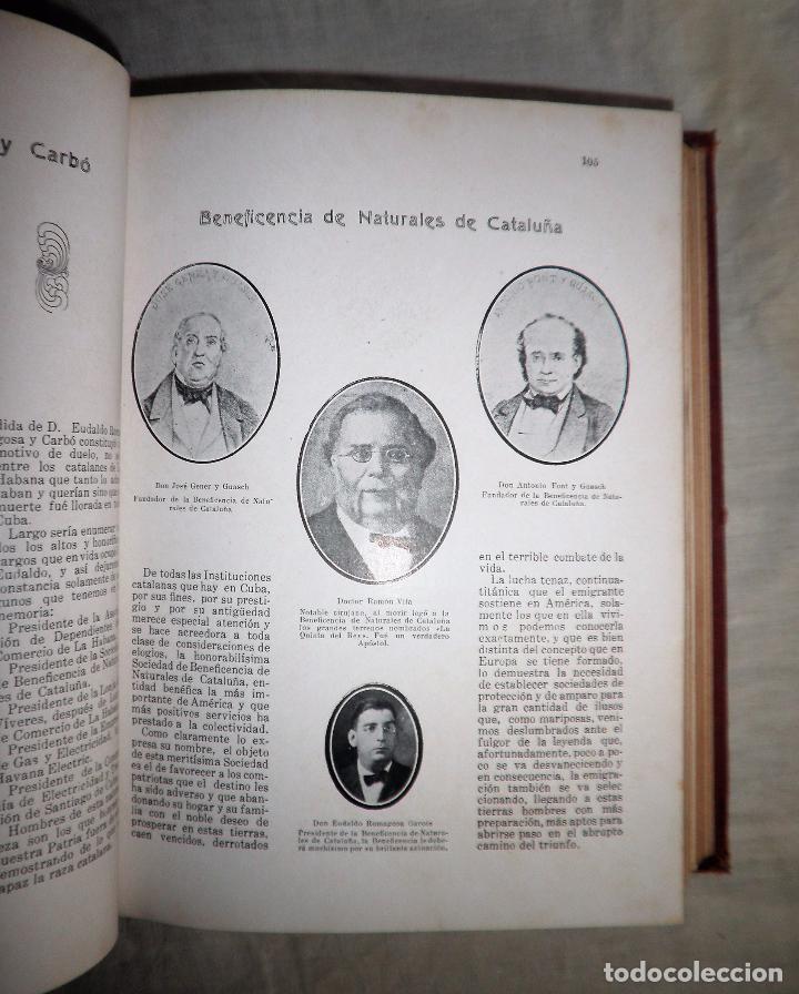 Libros antiguos: EL PROGRESO CATALAN EN AMERICA - AÑO 1927 - MONUMENTAL OBRA ILUSTRADA. - Foto 14 - 77805333