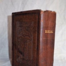 Libros antiguos: LA SANTA BIBLIA - AÑO 1884 - ANTIGUA VERSION DE CIPRIANO DE VALERA - BIBLIA PROTESTANTE.. Lote 150185934