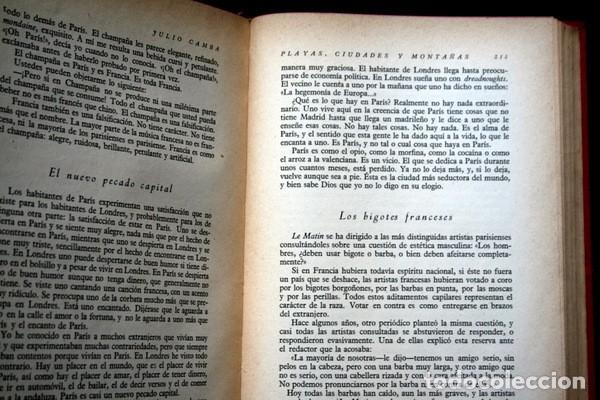 Libros antiguos: JULIO CAMBA - OBRAS COMPLETAS - TOMO I - - Foto 2 - 77816957