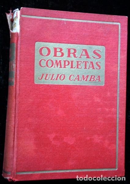 Libros antiguos: JULIO CAMBA - OBRAS COMPLETAS - TOMO I - - Foto 3 - 77816957