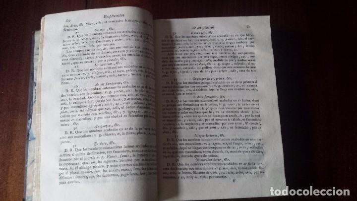 Libros antiguos: Arte Explicado y Gramático Perfecto Divido en Tres Partes (1817) Marcos Márquez de Medina - Foto 4 - 77826981