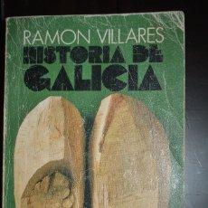 Libri antichi: HISTORIA DE GALICIA. AUTOR: RAMON VILLARES. ALIANZA EDITORIAL 1125. Lote 77865613