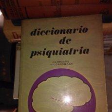Libros antiguos: DICCIONARIO DE PSIQUIATRIA. Lote 78030809