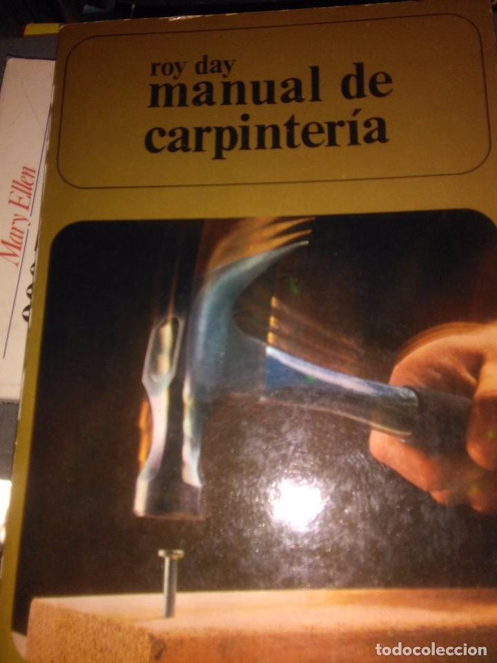 MANUAL DE CARPINTERIA (Libros Antiguos, Raros y Curiosos - Ciencias, Manuales y Oficios - Otros)