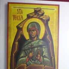 Libros antiguos: LIBRO TARRAGONA-ELS GOIGS DE STA.TECLA-CATALAN 2011-POR MN.JOAN ROIG--BB. Lote 78078737