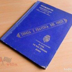 Libros antiguos: MARIA DEL PILAR FERRER - TEORIA Y PRACTICA DEL CORTE - 1927. Lote 78112661