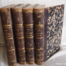 Libros antiguos: HISTORIA DE LA LITERATURA SAINT MARC GIRARDIN COURS DE LITTERATURE 1855. Lote 78350885