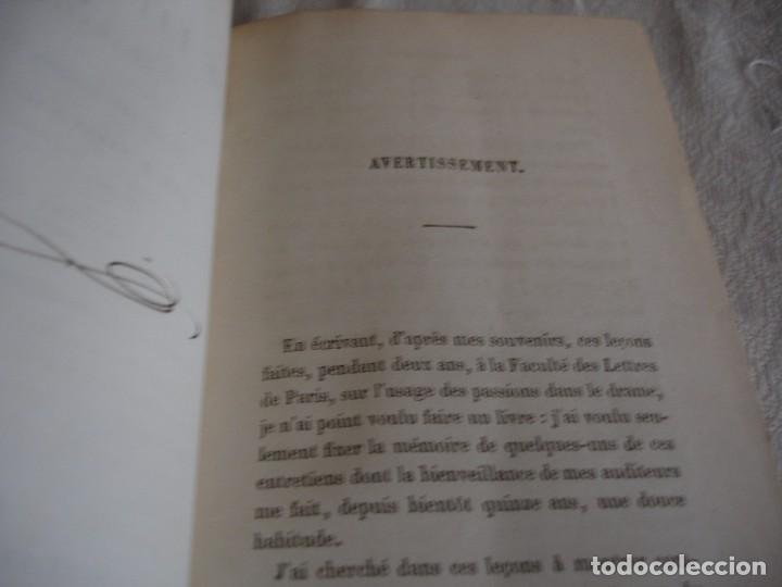 Libros antiguos: Historia de la literatura Saint Marc Girardin Cours de litterature 1855 - Foto 4 - 78350885