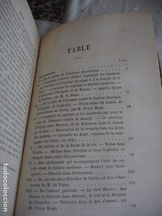 Libros antiguos: Historia de la literatura Saint Marc Girardin Cours de litterature 1855 - Foto 5 - 78350885