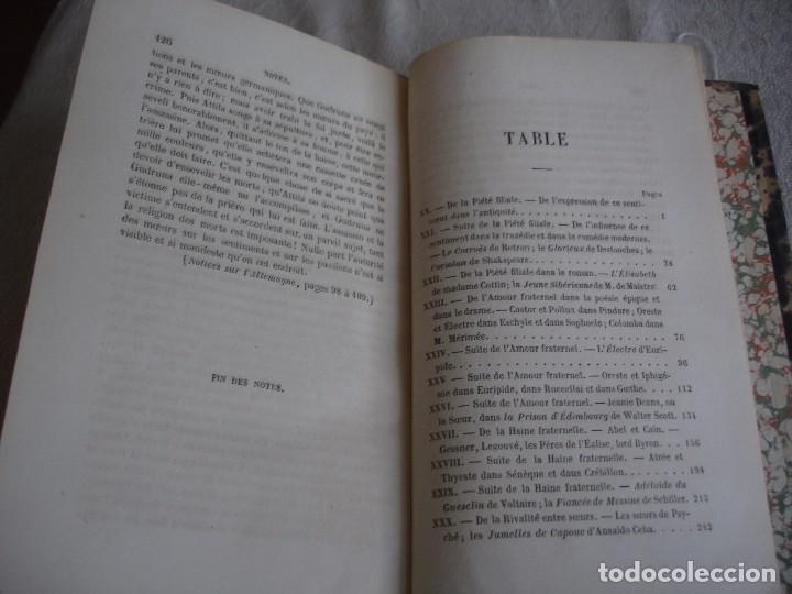 Libros antiguos: Historia de la literatura Saint Marc Girardin Cours de litterature 1855 - Foto 10 - 78350885