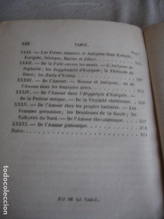 Libros antiguos: Historia de la literatura Saint Marc Girardin Cours de litterature 1855 - Foto 11 - 78350885
