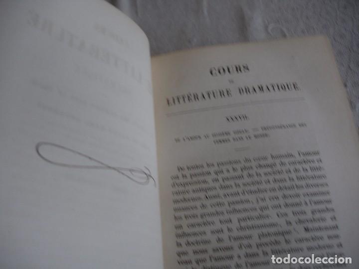 Libros antiguos: Historia de la literatura Saint Marc Girardin Cours de litterature 1855 - Foto 13 - 78350885