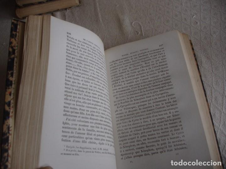 Libros antiguos: Historia de la literatura Saint Marc Girardin Cours de litterature 1855 - Foto 18 - 78350885