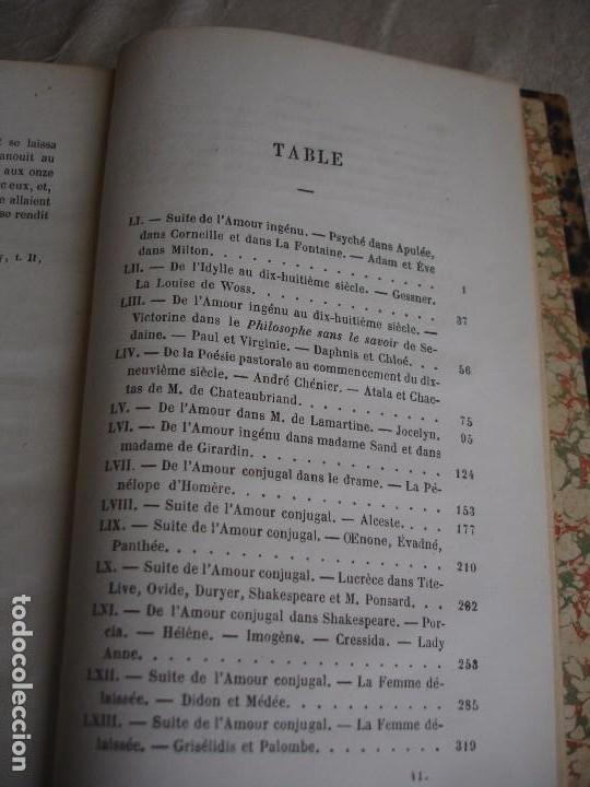 Libros antiguos: Historia de la literatura Saint Marc Girardin Cours de litterature 1855 - Foto 19 - 78350885