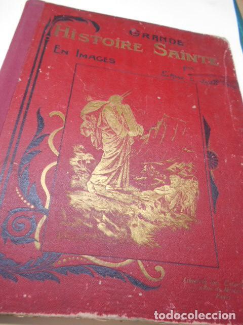ABBE L. JAUD: GRANDE HISTOIRE SAINTE EN LEÇONS - EN IMAGES AUX ENFANTS - AUX MERES CHRETIENNES. (Libros antiguos (hasta 1936), raros y curiosos - Literatura - Narrativa - Otros)