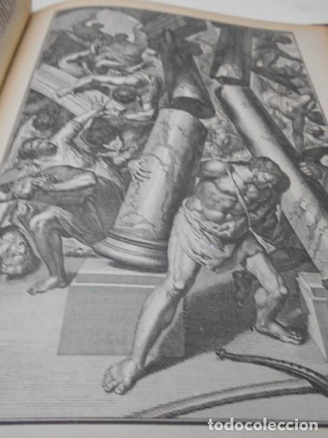 Libros antiguos: ABBE L. JAUD: GRANDE HISTOIRE SAINTE EN LEÇONS - EN IMAGES AUX ENFANTS - AUX MERES CHRETIENNES. - Foto 5 - 78356681